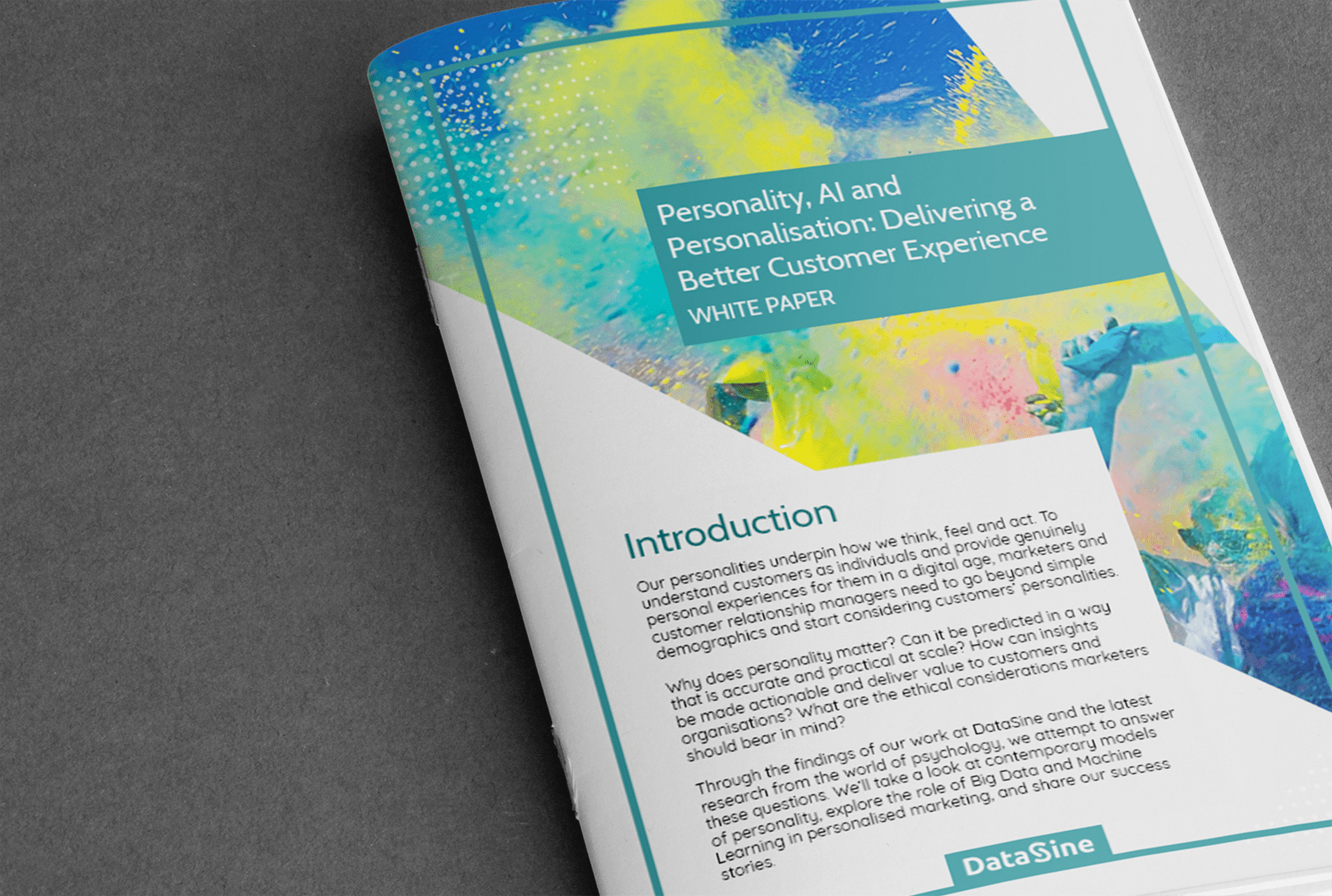 Personalisation White Paper